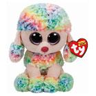 Peluche Beanie Boo's Rainbow le caniche 70 cm