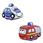 Voiture Mini Steps press and go