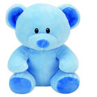Peluche Baby ty - Lullaby l'ours bleu 20 cm