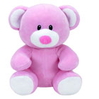 Peluche Baby ty - Princess l'ours rose 20 cm