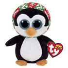 Peluche Beanie boo's - Pénélope le pingouin 15 cm