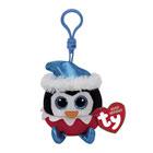 Porte clés Beanie Boo's-Sugarplum le pingouin