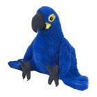 Peluche perroquet Ara bleu 30 cm