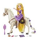 Coffret poupée Raiponce et cheval Maximus