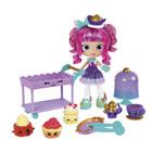 Shopkins Shoppies Tea time figurines et poupée