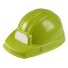 Casque de chantier vert Claas ajustable