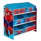 Rangement 6 bacs Spiderman