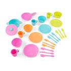 Ensemble d'ustensiles couleurs vives 27 pièces