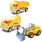 Coffret 3 véhicules de chantier