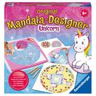 Mandala Designer classique licornes