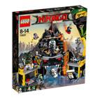 70631-LEGO® Le repaire volcanique de Garmadon