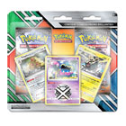 Coffret Pokemon 2 booster et cartes promo brillantes