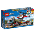 60183-LEGO® City Le transporteur d'hélicoptère