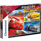 Puzzles 48 pièces Cars 3