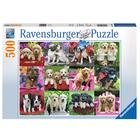 Puzzle 500 pièces les copains chiots