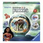 Puzzle 3D rond 72 pièces Vaiana