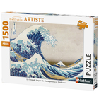 Puzzle 1500 pièces vague Kanagawa