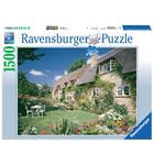Puzzle de 1500 pièces Cottage on Bredon hill