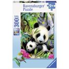Puzzle 300 pièces charmants pandas