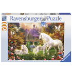 Puzzle 500 pièces les licornes magiques