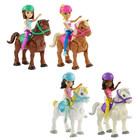 Barbie - Mini poupée et poney