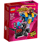 76090-LEGO® Mighty Micros Star-Lord contre Nebula