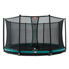 Trampoline InGround Champion 270 vert avec filet Comfort