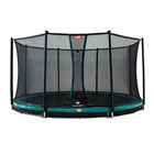 Trampoline InGround Champion 430 vert avec filet Comfort