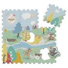 Tapis puzzle Bambi Disney 9 pièces