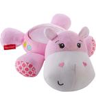 Veilleuse Hippopotame rose douce nuit