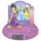 Radio réveil projecteur Disney Princesses