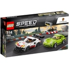 75888-Lego® Speed Champions-Porsche 911 RSR et 911 Turbo 3.0