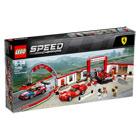 75889-LEGO® Le stand Ferrari