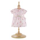 Robe rose pour poupon de 30 cm