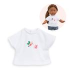 T-shirt Tropicorolle pour poupée Ma Corolle