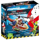 9385-Playmobil Ghostbusters Venkman avec hélicoptère