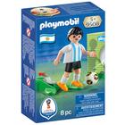 9508-Playmobil Joueur de foot Argentin