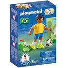 9510-Playmobil Joueur de foot Brésilien