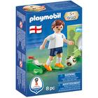 9512-Playmobil joueur de foot Anglais