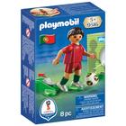 9516-Playmobil Joueur de foot Portugais