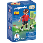 9517-Playmobil Joueur de foot Espagnol
