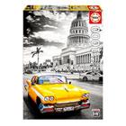Puzzle 1000 pièces taxi à La Havane Cuba
