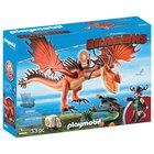 9459 - Playmobil Dragons Rustik et Krochefer