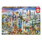 Puzzle 1500 pièces Symboles d'Amérique du Nord