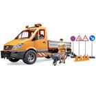 Camion municipal MB avec module son et lumière