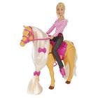 Poupée Lolly et son cheval qui avance