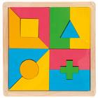 Puzzle en bois formes