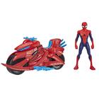 Spiderman Titan avec véhicule Spidermoto