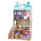 Maison de poupée palace Disney Reine des Neiges