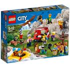 60202 - LEGO® CITY - Figurines les aventures en plein air